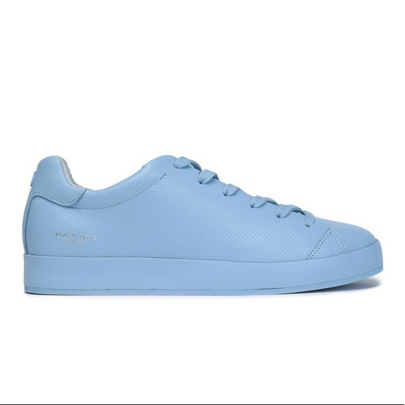 Rag Bone Perforated Lace Up Sneakers